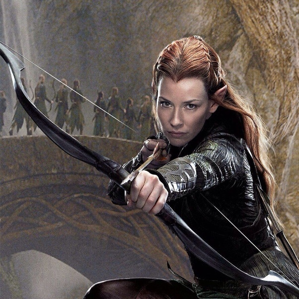 In the Hobbit movies, what happened to Tauriel after the