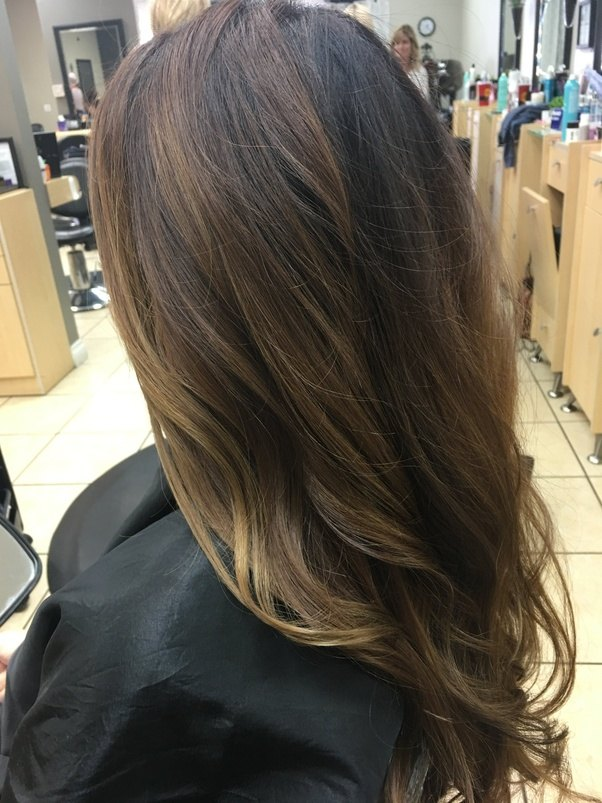 Is A Balayage Ombre Considered Full Head Highlights Quora