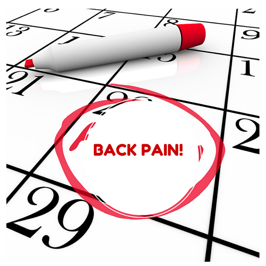 how to stop back pain on your period