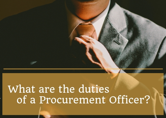 What is procurement? What is the main work of a procurement officer? - Quora