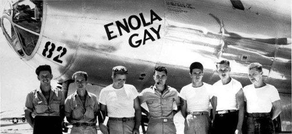 pilots enola gay