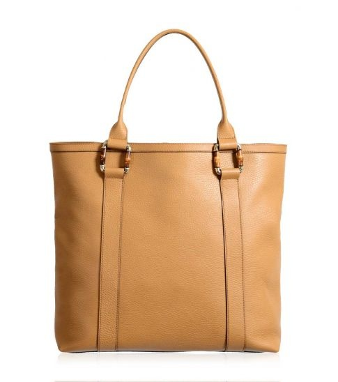 Gucci Brown Large Bamboo Tote