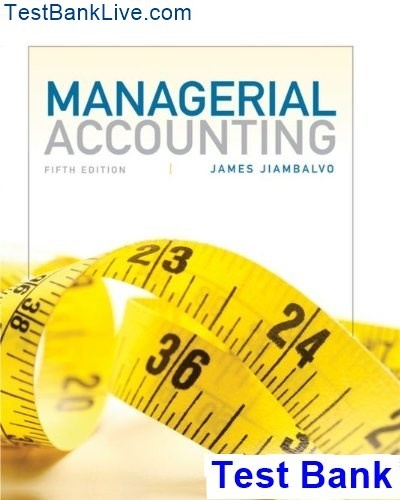 Pdf 5th to edition introduction managerial accounting