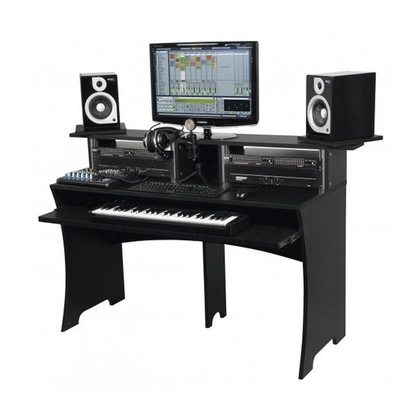 are there any inexpensive computer desks that are designed to hold a piano keyboard i e a. Black Bedroom Furniture Sets. Home Design Ideas