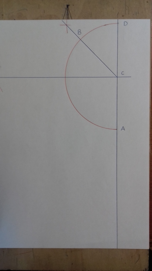 Use the diagram to find the measure of exterior angle BCD.