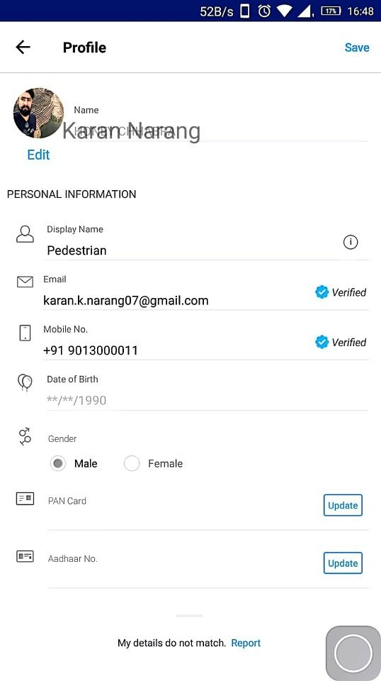How can the registered number on Paytm be changed if the previous ...