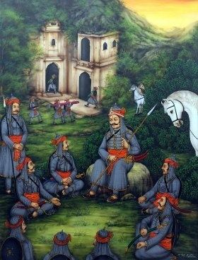 Image result for The First Battle Against the Vagadiya Chouhans