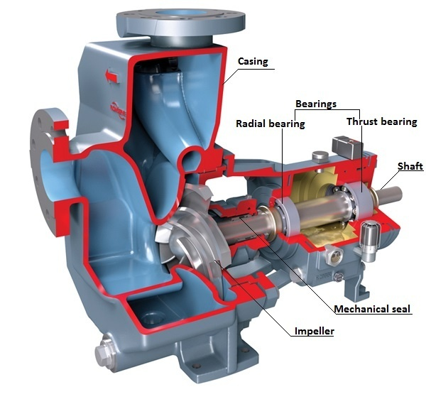 What Are The Main Components Of Water Pumps