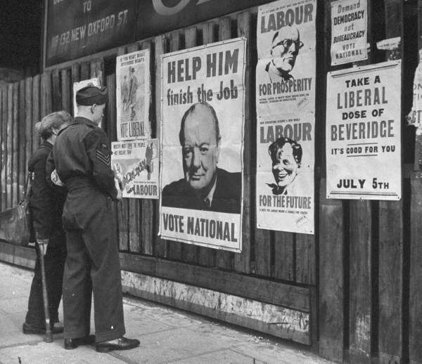 Why Did The British People Vote Winston Churchill And The