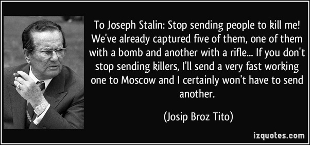 Image result for tito to stalin letter 1949