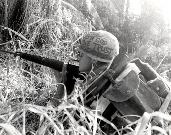 Why Were American Soldiers In Vietnam Allowed To Draw On Their Helmets Uniforms Quora