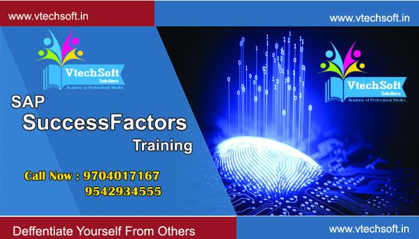 Which is the best sap success factors institute in Hyderabad? - Quora