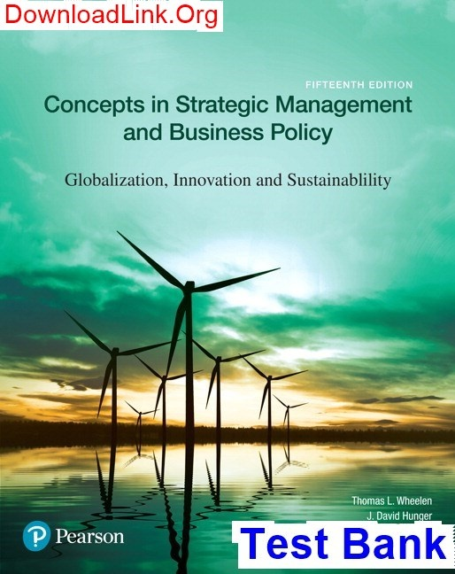 How To Read Strategic Management And Business Policy Globalization