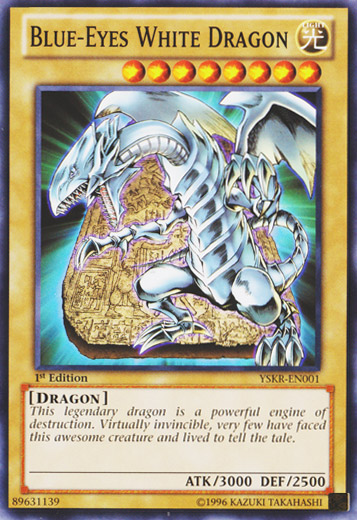 What is the Blue-Eyes White Dragon in Yu-Gi-Oh? - Quora