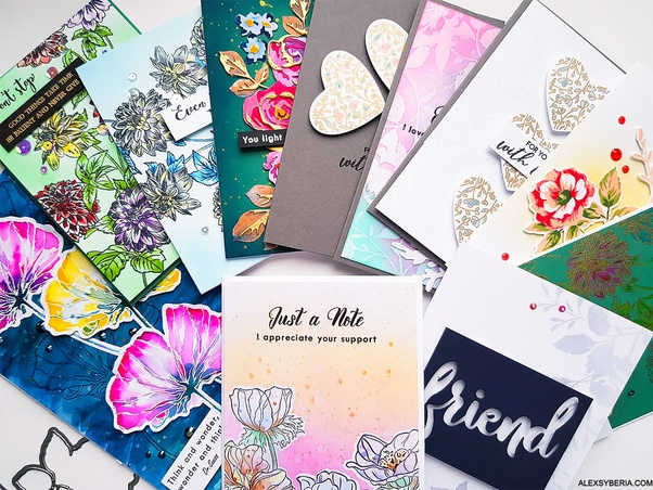 What Are Some Flower Stamps For Card Making Quora