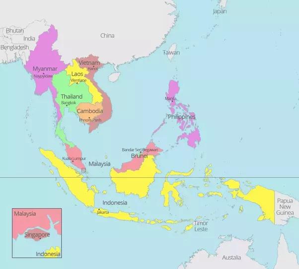 east asian nation impoverished