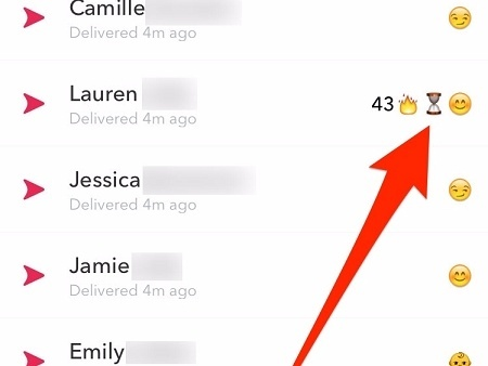 Can you get a streak with yourself on snapchat