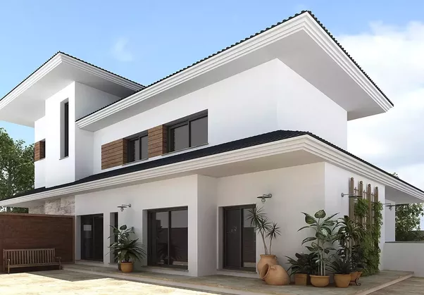 ... House Like The Design Of Patio, Design Of Your Garden And Exterior  Architecture Of Home. One Factor To Consider For Exterior Decorating, For  Example, ...