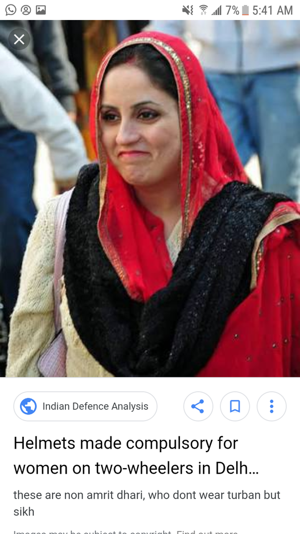 What is the proper headcovering for a Sikh woman? - Quora