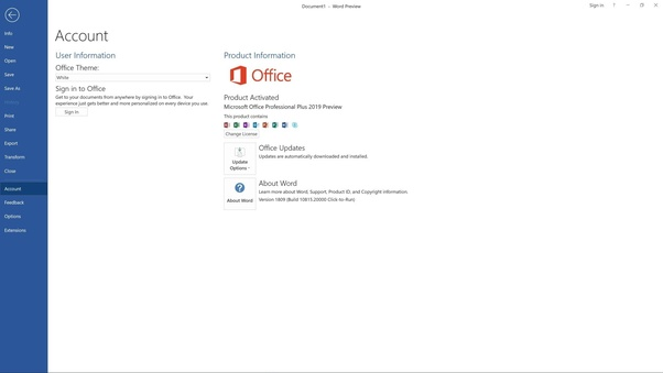 How To Download And Install Ms Office 2019 Quora