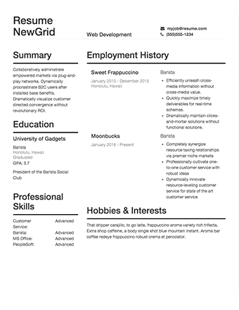How to rewrite my academic CV as a business resume - Quora