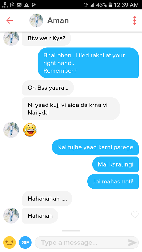 best tinder chats