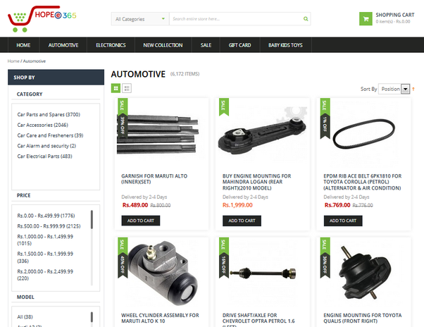 What is the best website to buy auto parts? - Quora