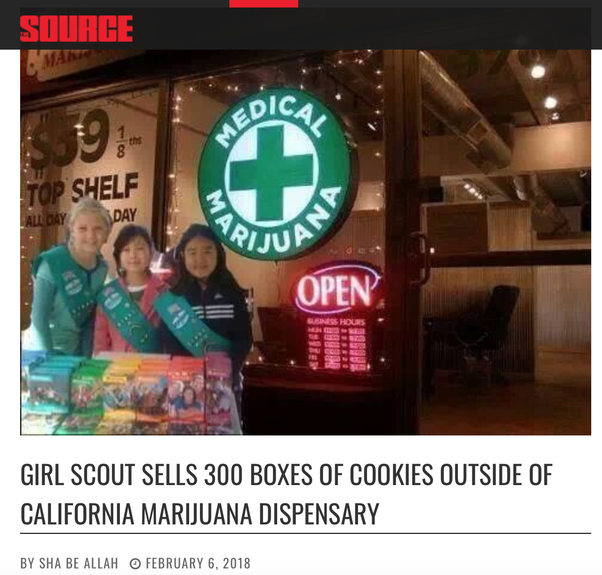 What is the most creative way you have seen a Troop sell Girl Scout