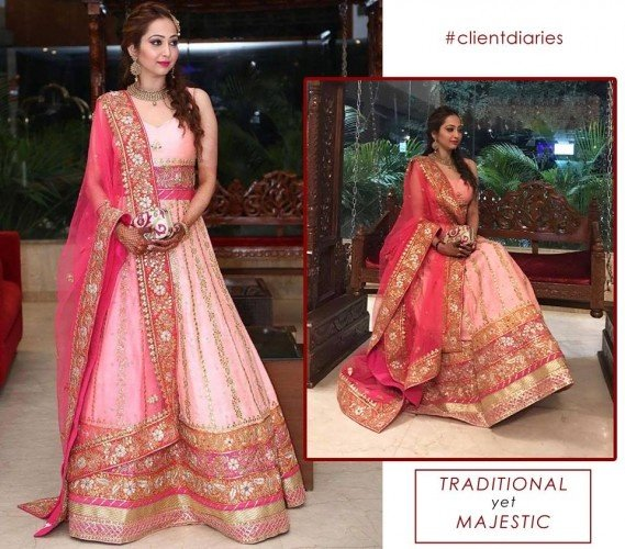 Panache Wedding Gowns: Can You Suggest A Few Places To Buy Bridal Lehengas In