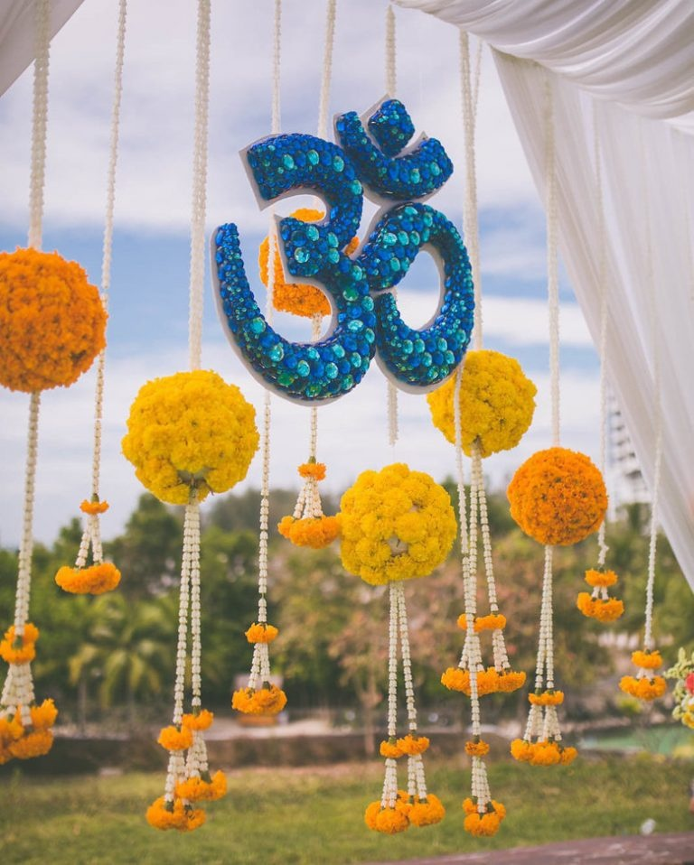 What Are The Best Decor Ideas For Haldi Ceremony Quora