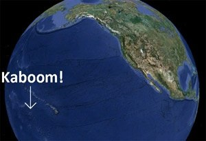 What does a nuclear explosion on Earth look like from ...