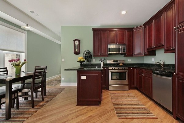Something Like This Is A Great Example Of How The Dark Wood And Counters Can Work Together