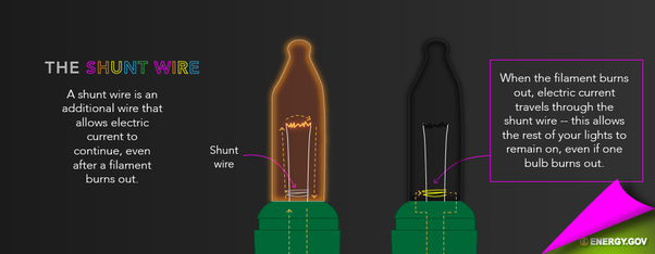 christmas tree lights were once wired in series but no longer are 2-Way Light Switch Wiring Diagram