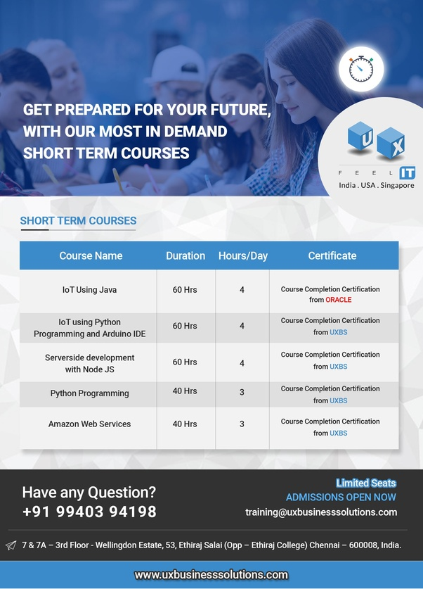 What Are The Best Short Term Courses For An Ece Student Quora