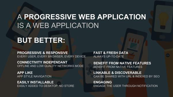 Is PWA (progressive web apps) the future of web design? - Quora