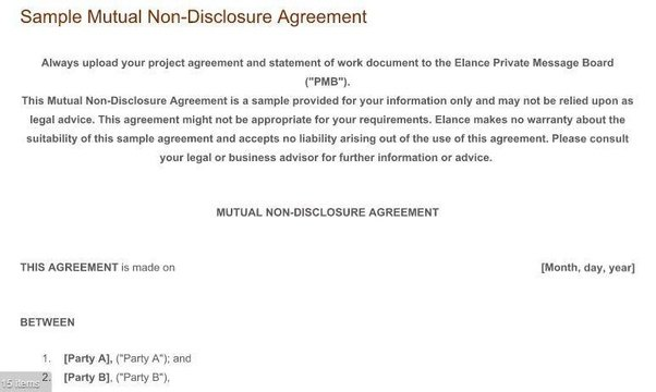 NonDisclosure Agreements What Are The Rules And Practice Around - General nda template
