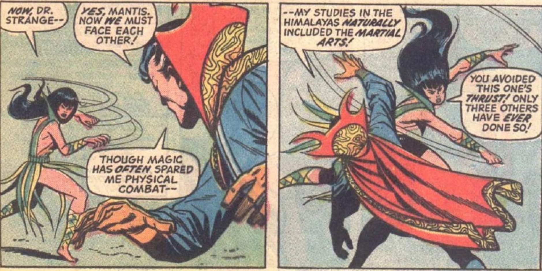 Who would win in a fight between Harry Potter and Doctor Strange