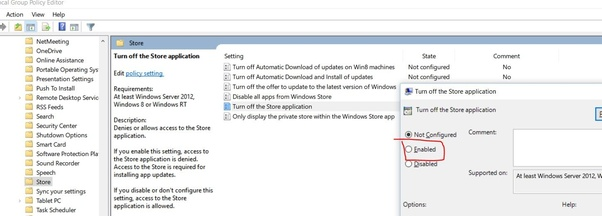 How to disable the Microsoft Store on Windows 10 - Quora