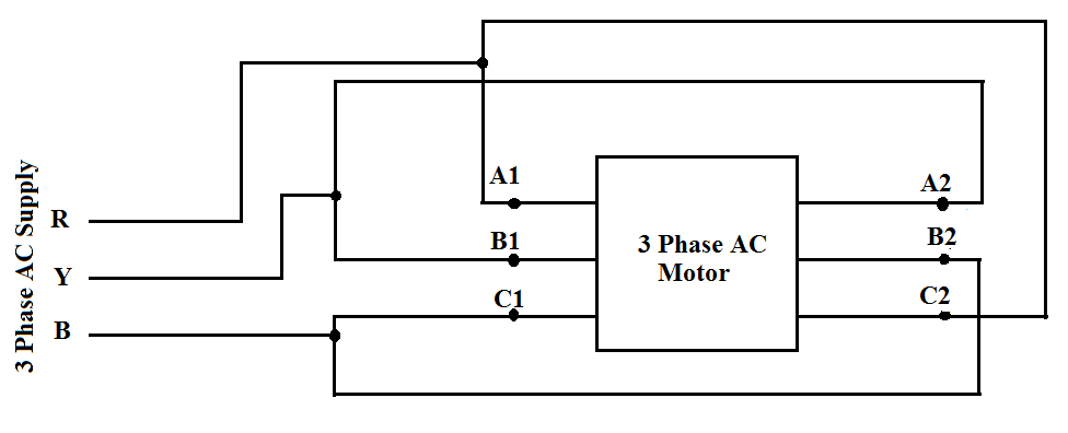 star motor wiring diagram how to connect 3 phase motors in star and delta connection quora motor star delta wiring diagram pdf motors in star and delta connection