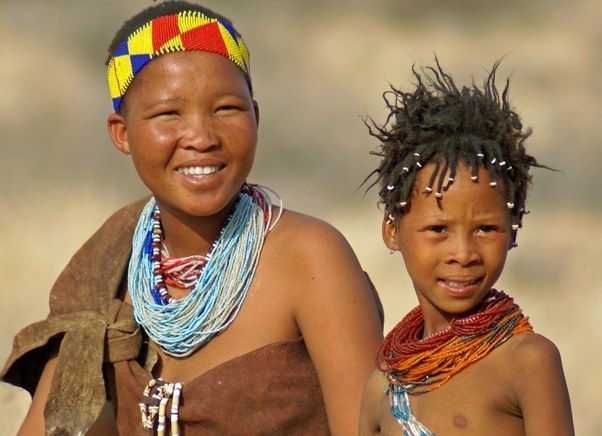 what is your theory as to why the saan people of africa are light