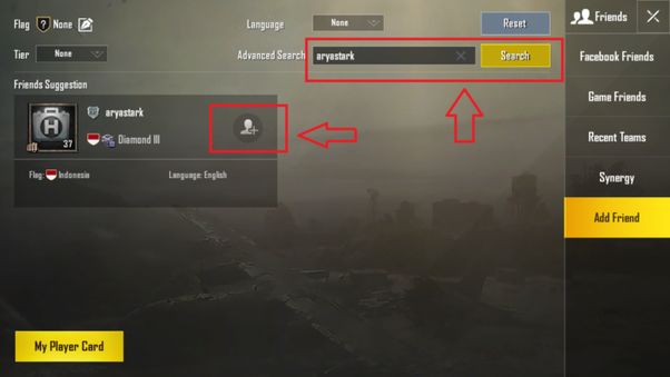 How to find my PUBG game friend using their PUBG game ID - Quora