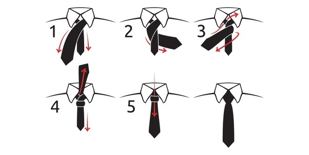 How to tie a tie simply quora for step by step instruction see how to tie a tie ccuart Images