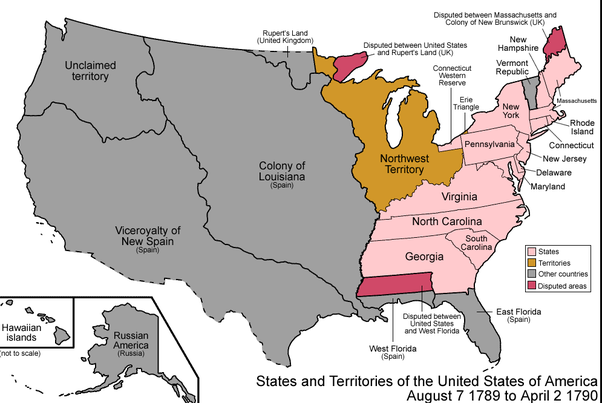 Which states of United States are the dividing line between ...
