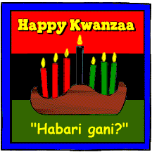 If you celebrate kwanzaa what does the celebration look like quora practice the kwanzaa greetings starting on december 26 greet everyone by saying habari gani which is a standard swahili greeting meaning what is the m4hsunfo