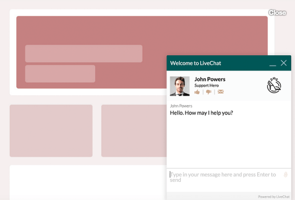 What is a live chat software through which we can track the website ...