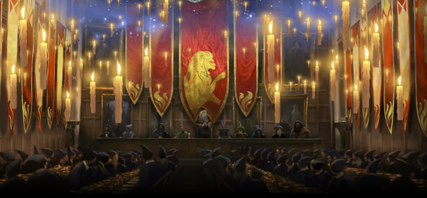 What Does The Great Hall Of Hogwarts Look Like Quora