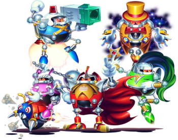 Which Evil Genius Doctor Would Win In A Robot War Dr Robotnik Sonic The Hedgehog Series Or Dr Wily Megaman Series Quora