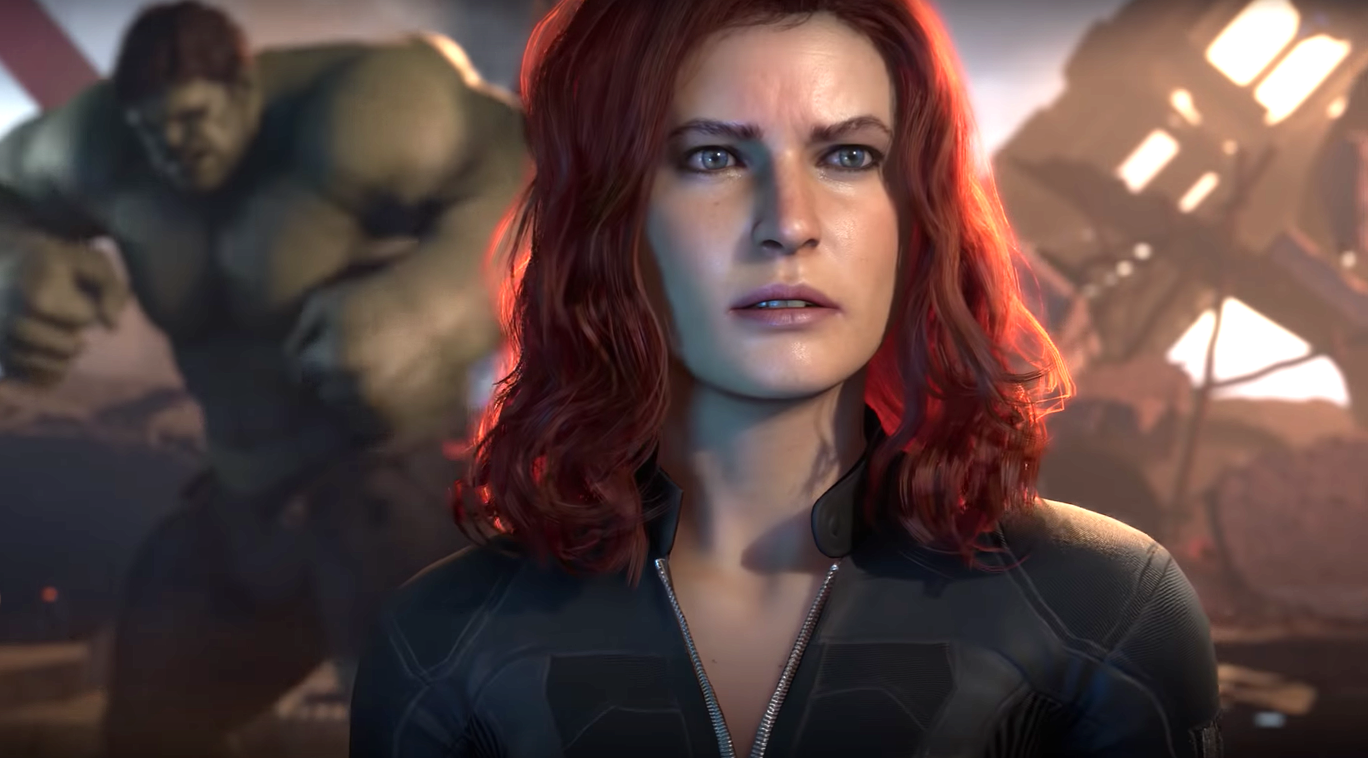Why Does Black Widow Look Like A Man In The Marvel S