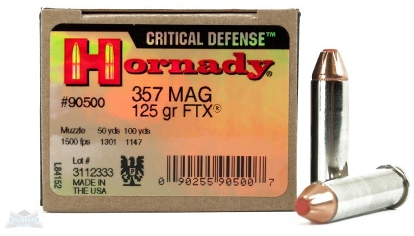 What is the best  357 ammo to use in both a snubnose