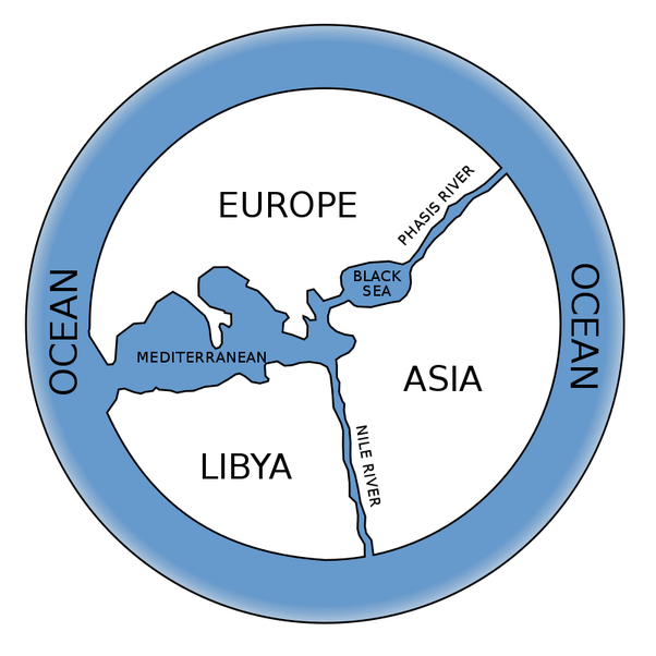When And How Was The First World Map Made Quora